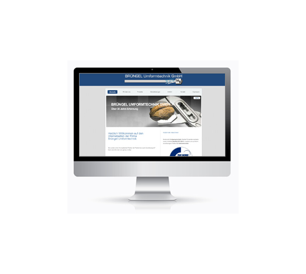 Webdesign Industrie